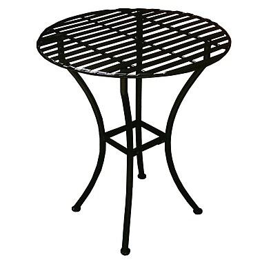 Pangaea Round Bistro Table; Black
