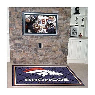 FANMATS NFL - Denver Broncos 4x6 Rug; 4' x 6'