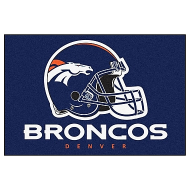 FANMATS NFL - Denver Broncos Doormat; 5' x 8'