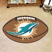 FANMATS NFL - Miami Dolphins Football Mat