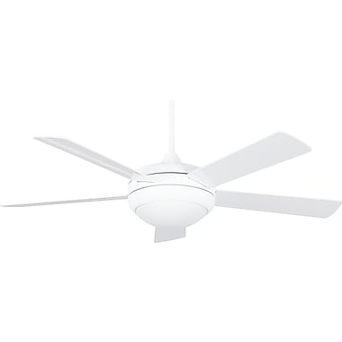 Concord Fans 52'' Saturn 5-Blade Fan; White with White Blades