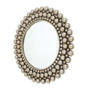Wildon Home   Cleo Wall Mirror; Silver
