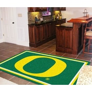 FANMATS NCAA University of Oregon Rug; 5' x 7'8''