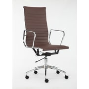 Winport Industries High-Back Executive Chair; Brown