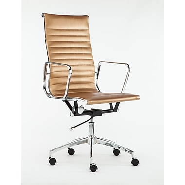 Winport Industries High-Back Executive Chair; Gold