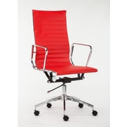 Winport Industries High-Back Executive Chair; Red