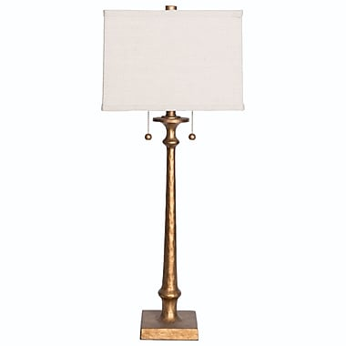 Wildon Home Candlestick 33.5'' Table Lamp