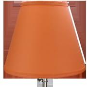 Fenchel Shades 11'' Linen Empire Lamp Shade; Cream