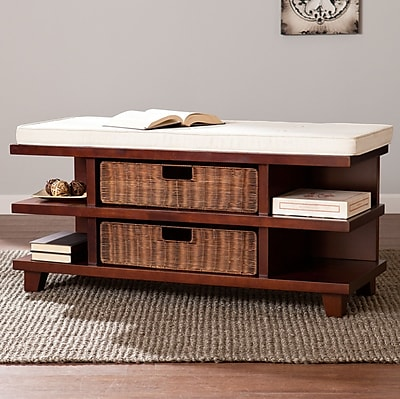 Darby Home Co Campos Upholstered Storage Bench