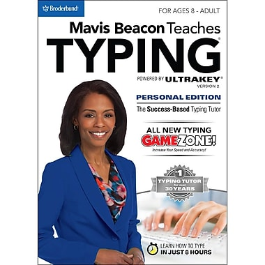 Mavis Beacon Teaches Typing Powered by UltraKey v2, Personal Edition (PC) (LIC4299) [Download]