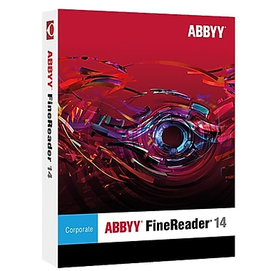 ABBYY FineReader 14 Corporate Upgrade (FRCUW14E) [Download]