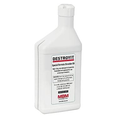 Destroyit - Huile pour déchiqueteur, 500 ml (OIL 500ML)