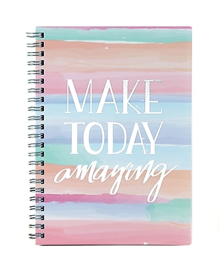 17-18 Studio C 8x5 Week/Month Silver Lining Assorted: Find Joy in the Ordinary, Life is Pretty Good or Make Today Amazing-39863
