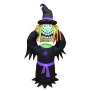 The Holiday Aisle Halloween Headless Witch Inflatable