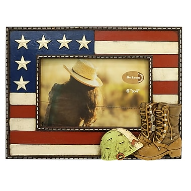 De Leon Collections Military Boots Picture Frame