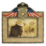 De Leon Collections Police Picture Frame