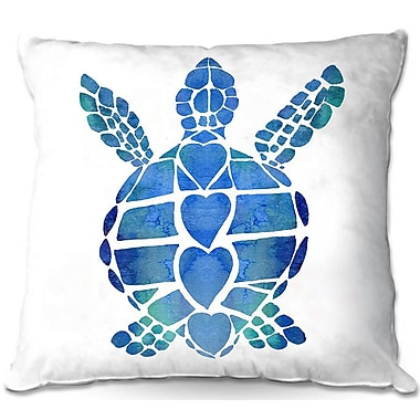 East Urban Home Turtle Throw Pillow; 20'' H x 20'' W x 5'' D