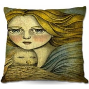 DiaNocheDesigns The Guardian Throw Pillow; 16'' H x 16'' W x 4'' D