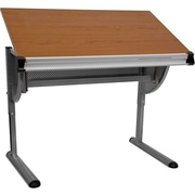 Offex Adjustable Wood Drafting Table
