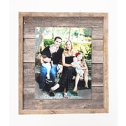 BarnwoodUSA Rustic Plank Picture Frame; 8'' x 10''