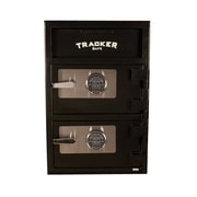 Tracker Safe Double Door Steel Deposit Safe w/ Electronic Lock