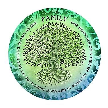 Bloomsbury Market 'Family Tree' Graphic Art Print on Metal