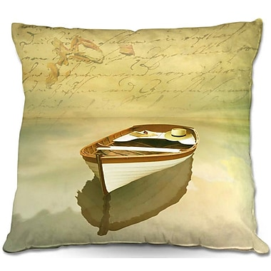 East Urban Home Boat Throw Pillow; 20'' H x 20'' W x 5'' D