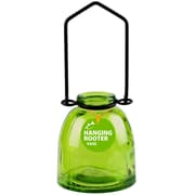 Couronne Ottoman Hanging Recycled Glass Rooting Wall Vase; Lime
