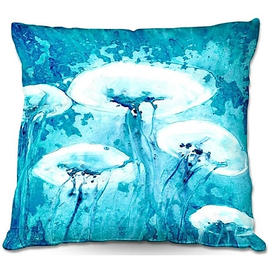 DiaNocheDesigns Luminous Jelly Fish Throw Pillow; 20'' H x 20'' W x 5'' D