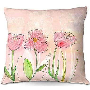 East Urban Home Flower Throw Pillow; 22'' H x 22'' W x 5'' D