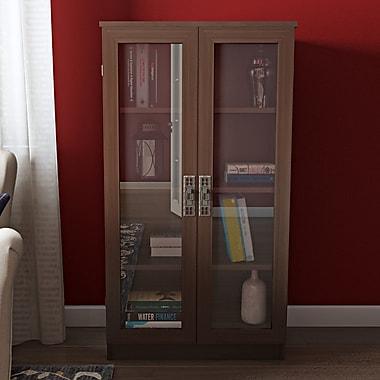 Alcott Hill Gatewood Glass Door 53'' Standard Bookcase