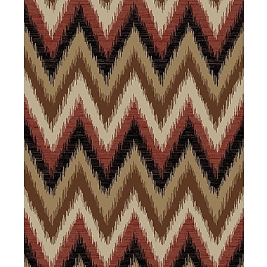 Mayberry Rug Hearthside Threaded Flames Lodge Multi Area Rug; 7'10'' x 9'10''