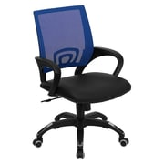 Offex Mid-Back Mesh Desk Chair; Blue