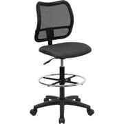 Offex Mid-Back Mesh Drafting Chair; Gray