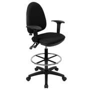 Offex Mid-Back Drafting Chair; Black