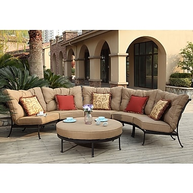 Darby Home Co Lanesville 6 Piece Deep Seating Group w/ Cushions