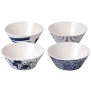 Royal Doulton Pacific Outdoor Living 4 Piece Cereal Bowl Set