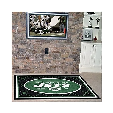 FANMATS NFL - New York Jets 4x6 Rug; 4' x 6'