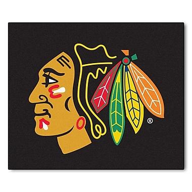 FANMATS NHL - Chicago Blackhawks Doormat; 5' x 6'