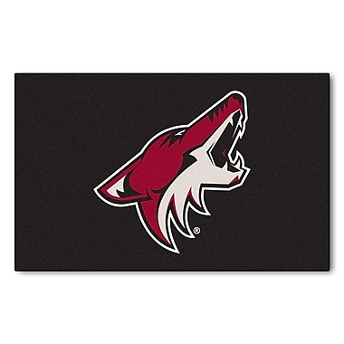 FANMATS NHL - Arizona Coyotes Doormat; 5' x 8'