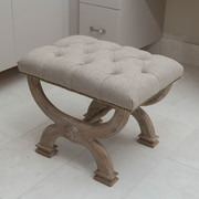 The Bella Collection Cleopatra Vanity Stool