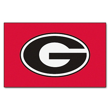 FANMATS NCAA University of Georgia Ulti-Mat; Red