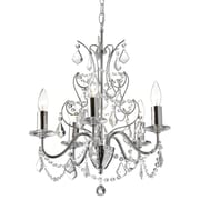 Dainolite Vanessa 5-Light Crystal Chandelier