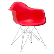 Edgemod Padget Arm Chair; Red