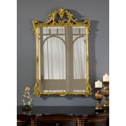 Hickory Manor House English Mirror; Gold Leaf