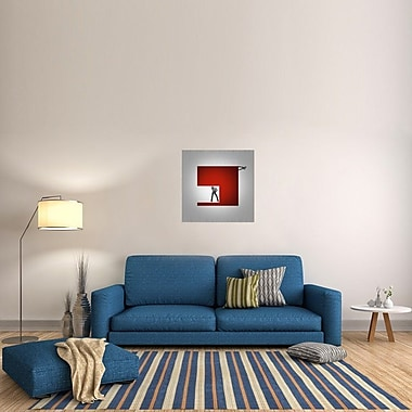 Naxart 'Cube' Graphic Art on Wrapped Canvas; 30'' H x 30'' W x 1.5'' D