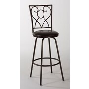 Hillsdale Bellesol Adjustable Height Swivel Bar Stool w/ Cushion