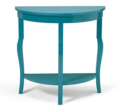 Kate and Laurel Lillian Console Table; Teal