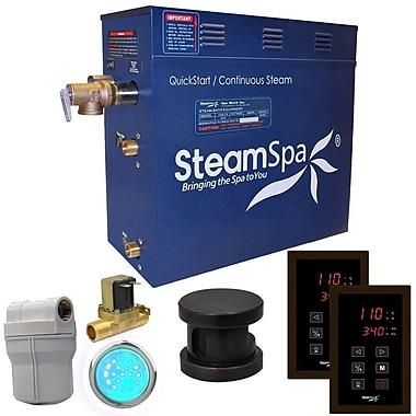 Steam Spa Royal 4.5 kW QuickStart Steam Bath Generator Package w/ Built-in Auto Drain