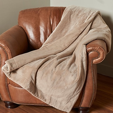 Berkshire Blanket Intellisense Electric Throw; Doe